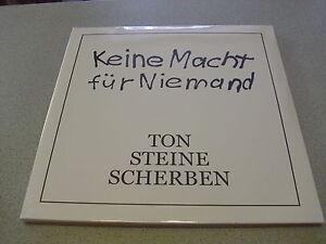 Ton-Steine-Scherben-Keine-Macht-Fuer-Niemand-2LP-Vinyl-Neu-amp-OVP-Gatefold