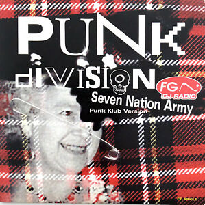 Punk-Division-CD-Single-Seven-Nation-Army-France-EX-EX