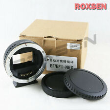 Auto Focus Canon EOS EF Lens to Sony E Mount Adapter NEX-7 A7 A7R A7S Full Frame