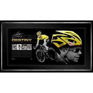 Cadel-Evans-Destiny-Hand-Signed-amp-Framed-Limited-Edition-Bell-Helmet-Certificate