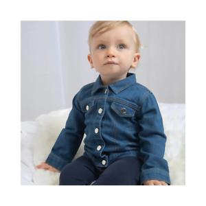 Babybugz Baby Toddler Rocks Denim Jacket