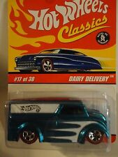 Hot Wheels Classics Series 2 #17 Light Blue Dairy Delivery