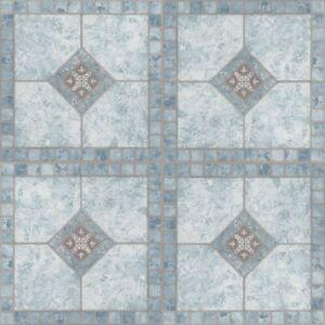 Details About Vinyl Floor Tiles Self Adhesive Peel And Stick Blue Bathroom Kitchen Flooring