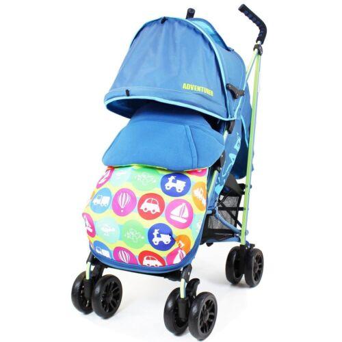 Boys ISafe Adventurer Complete Stroller Pram Push Chair
