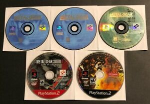 PS1-amp-PS2-Game-lot-Metal-Gear-Solid-1-2-3-amp-VR-Missions