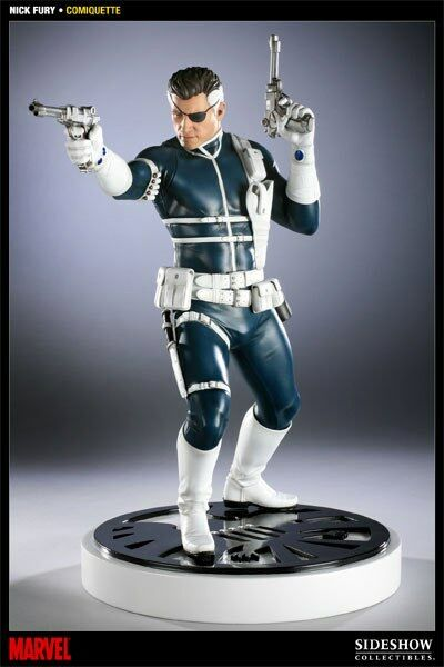Marvel Comiquette Nick Fury 1 5 Scale Statue Statue Statue SIDESHOW TOYS db0a9b