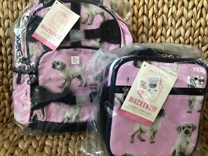 New Pottery Barn Kids Mackenzie Pink Puppy Small Backpack