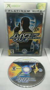 James-Bond-007-in-Agent-Under-Fire-PH-Case-and-Game-Disc-Tested-OG-Xbox