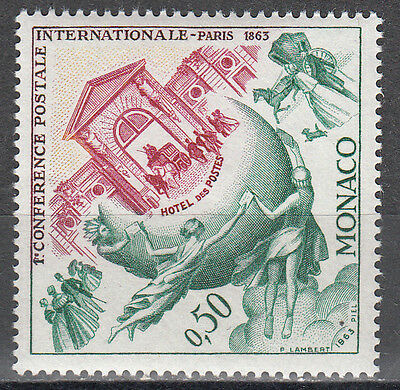 Internalionale Postkonferenz RüCksichtsvoll Monaco Nr 730** 100.jahrestag Der 1