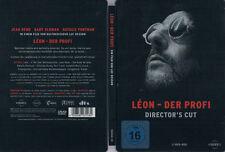 LÉON - DER PROFI --- Director's Cut --- Steelbook --- Kultfilm --- Klassiker ---