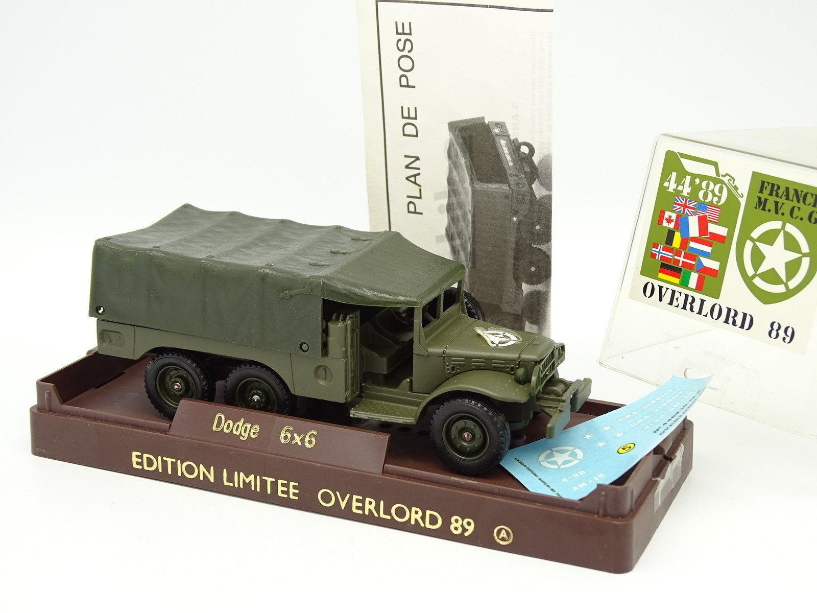 Solido Overlord Militare Esercito 1 50 - Dodge 6x6