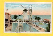 Miami Beach,FL Florida, Roman Pools, Windmill, Very High Diving board