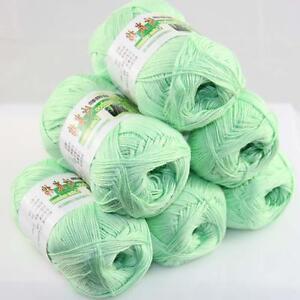 Sale-Lot-6-ballsx50g-Super-Soft-Bamboo-Cotton-Baby-Hand-Knitting-Crochet-Yarn-15
