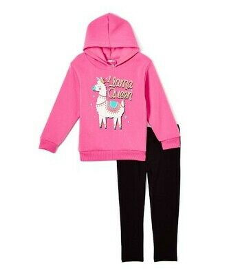 NWT Girls Toddler Sketchers 3 Piece Outfit Shirt//hoodie//Joggers Size 4T New