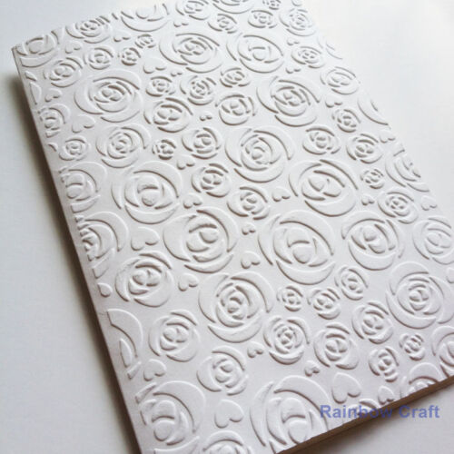 5 Embossed Cards /& Envelopes Rose Wedding invitations party invitations