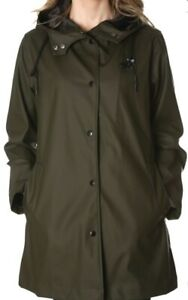 BLAUER-USA-Damen-Regenmantel-Raincoat-Impermeabile-olive-gruen-green-NEU-ETIKETT