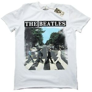 Vintage The Star T Shirt Rock Road Official Abbey Amplified Beatles BIq005