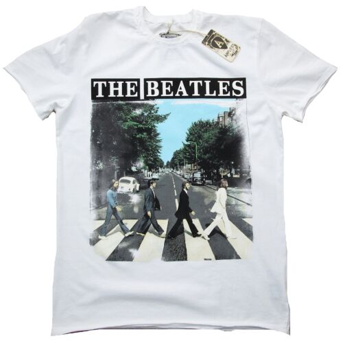 Amplified Official the Beatles Rock Star Abbey Road Vintage T-SHIRT G.M.48 //50
