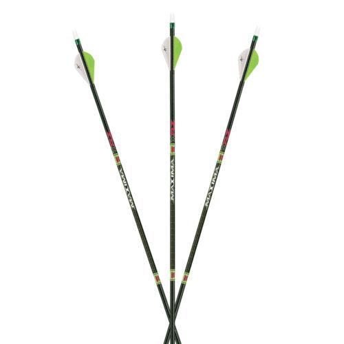 Carbon Express Arrow Maxima Red XRZ 350 Spine w// Blazer Vanes 6pk #51081