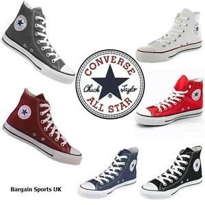 Converse-All-Star-HI-Top-Canvas-Pumps-High-Trainers-Shoes-Mens-Womens-All-Sizes