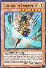 Gearfried the Swordmaster LCJW-EN040  X 1 Common 1st Ed Yugioh