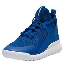 Adidas S77844 Men's Tubular X Basketball Shoes, SIZE 12, Royal Blue