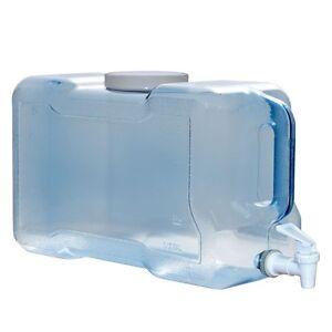 Bpa Free Water Dispenser 3 Gallon BPA FREE Water Wide Mouth Bottle Jug Refrigerator ...