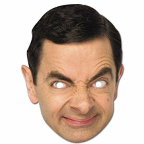 Celebrity Character Party Mask Rowan Atkinson Mr Bean Face Mask