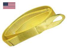 4 X 12 Ft Nylon Web Lifting Sling Strap 2 Ply Ee2 904 Eye Amp Eye Usa Domestic