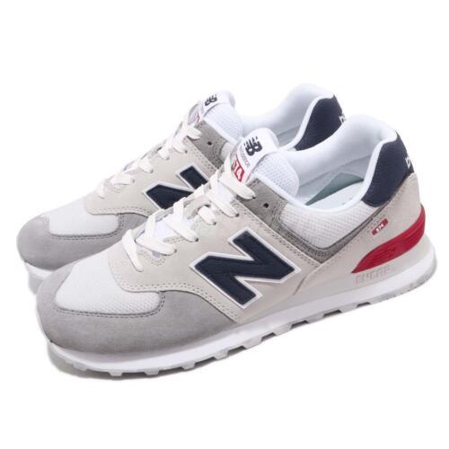 Ml574ujd Blu Uomo da Bianco Sneakers New Ml574ujdd Balance corsa Scarpe Grigio D Rosso FxS5Agq
