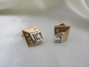 Ohrringe-aus-Gelbgold-585-mit-Topas-Blautopas-amp-weissen-Steinen