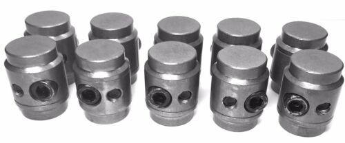 """Polaris RZR Can Am UTV Jeep Cage Connectors Adapters Clamping Bungs 1-3//4/"""" 10pcs"""