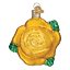 Old-World-Christmas-YELLOW-ROSE-36250-N-Glass-Ornament-w-OWC-Box thumbnail 1