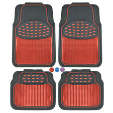 Metallic Car Floor Mats For All Weather Rubber Heavy Duty Protection For Auto Fits 2003 Honda Pilot