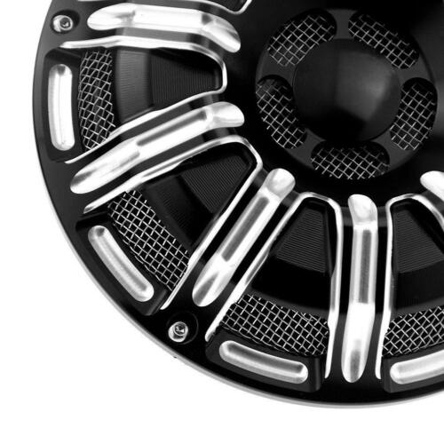 10Gauge Motorcycle Part 110dB Horn Cover For Harley Touring Big Twin 91-17 Black