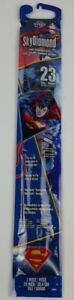 XKITES-Facekite-DC-Comics-Superman-20-Inch-Poly-Kite-With-Sky-Tails-New