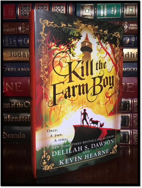 Kill The Farm Boy ✎SIGNED✎ by KEVIN HEARNE New Hardback 1st Edition & Printing