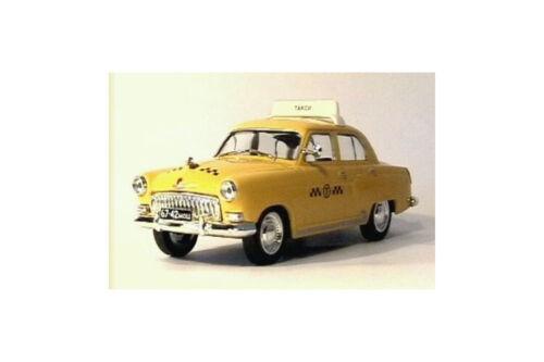 1955 Modell 1:43 GAZ Volga M21 Taxi Moskau