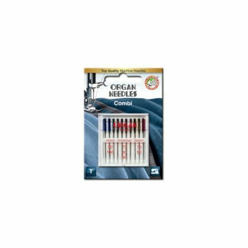 Organ Universal Combi-Box farb. Kolben 70-100/System 130/705H/10 Nadeln   #12213