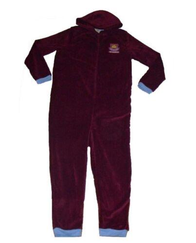 Mens Boys Jump Suit  Pyjamas Hood Arsenal Tottenham West ham Chelsea Man United