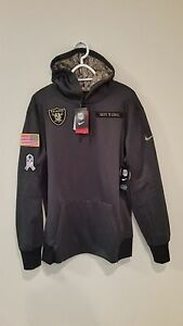new concept 2ff76 a6d55 raiders salute to service hoodie
