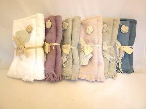 Set asciugamani da bagno spugna 1 viso 1 ospite 1 telo puro cotone