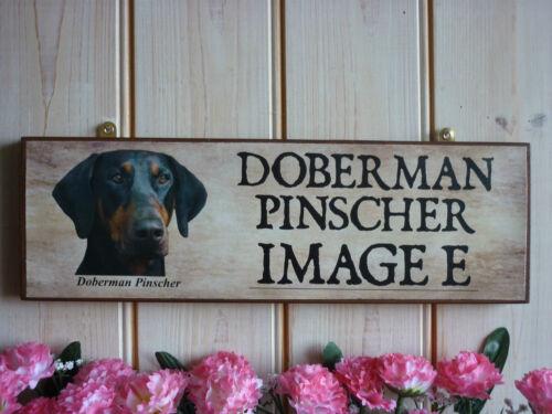 Memorial De Perro Para Mascota signo Doberman Pinscher en la memoria en la memoria Memorial signo de jardín