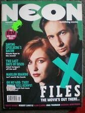 NEON Magazine Akte-X  X-Files 1998 David Duchovny Jenny McCarthy Chloe Sevigny