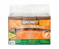 Growt Jscpb Coco Coir Mix Brick Set Of 3 Free Shipping