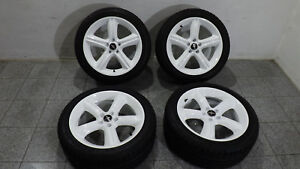 Ford-Mustang-V8-Alufelgen-Radsatz-19Zoll-Sommerreifen-Dunlop-245-45ZR19-original