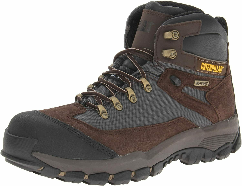 Caterpillar Mens KNIGHTSEN ST WP Steel Toe Water Proof Work Industrial Boots