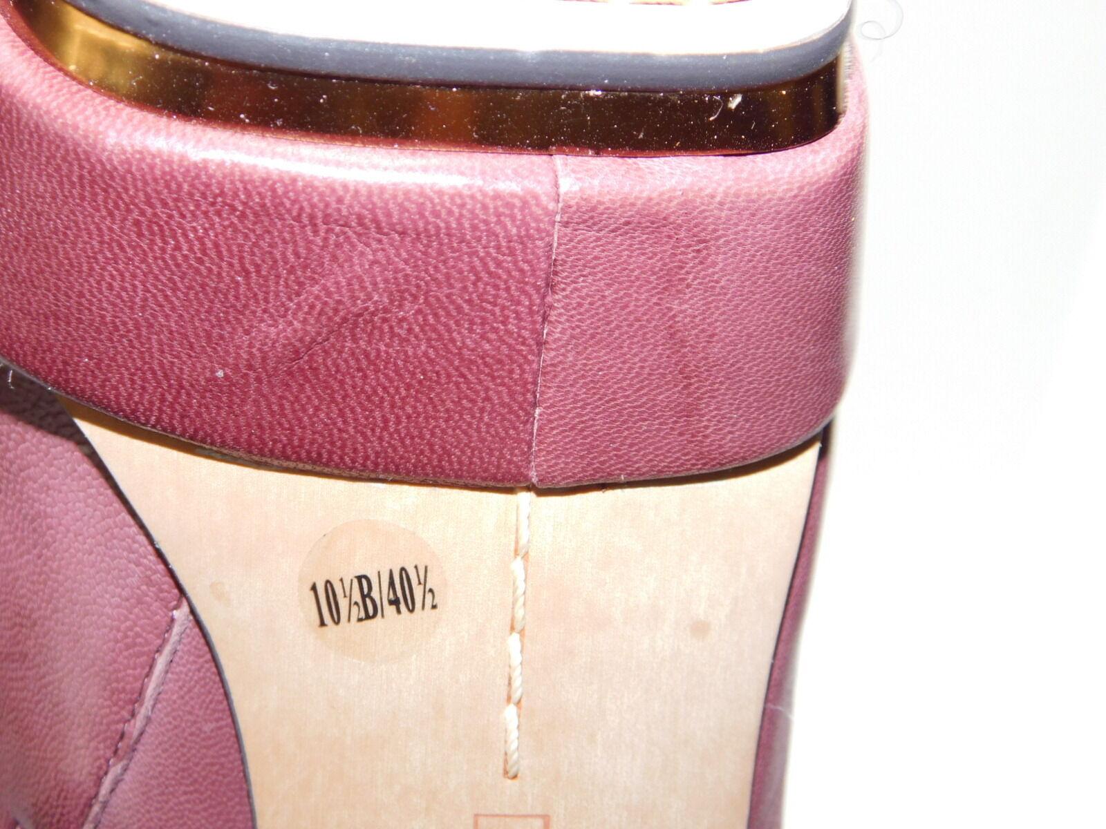 Vince Vince Vince Camuto Mauve Genuine Leder Platform Zip Booties....10.5 B US 6b967b