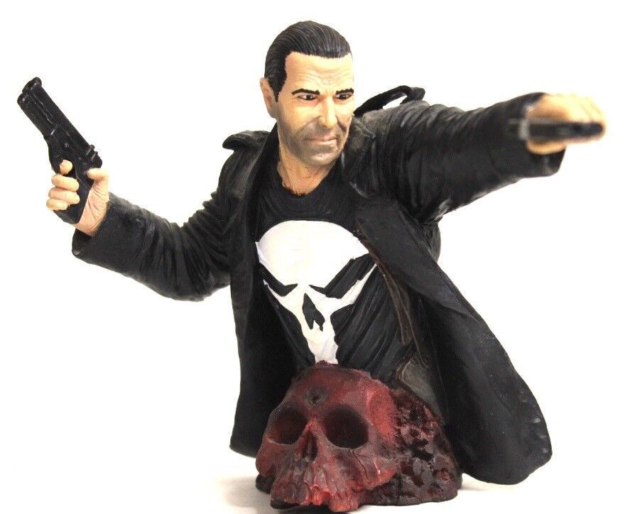 Diamond Marvel Comics Frank Castle The Punisher Resin Bust Statue [A]