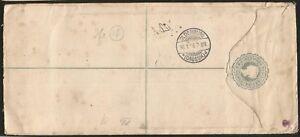 BERMUDA-ISLANDS-REGISTERED-TO-OLDENBURG-GERMANY-QUEEN-VICTORIA-1896-EINSCHREIBEN